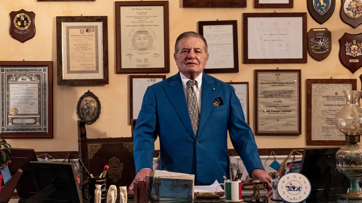 Comm. Giuseppe Campagna   Storia Mondialpol Security